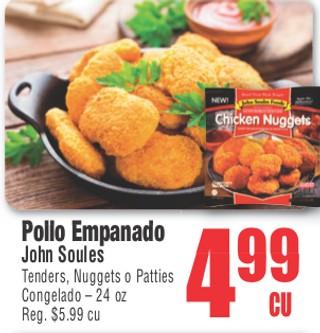 Pollo Empanado John Soules