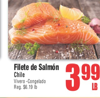 Filete de Salmon Chile