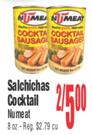 Salchichas Cocktail Numeat