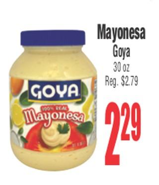 Mayonesa Goya
