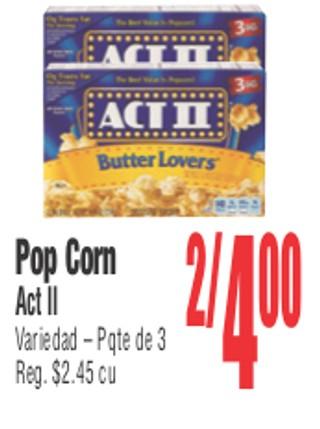 Pop Corn Act II