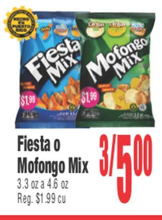 Fiesta o Mofongo Mix