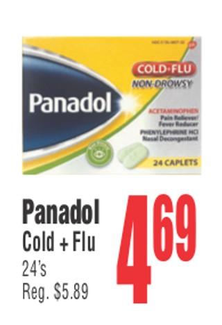 Panadol Cold + Flu 24's