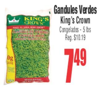 Gandules Verdes King's Crown