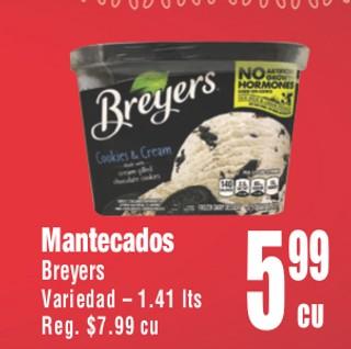 Mantecados Breyers