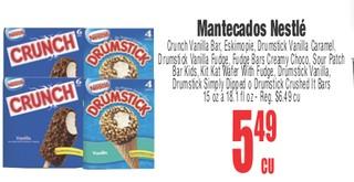 Mantecados Nestlé
