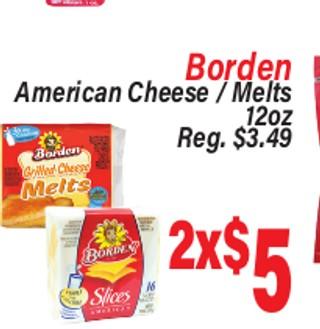 Borden American Cheese