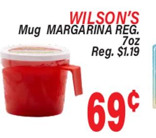 Wilsons Mug Margarina