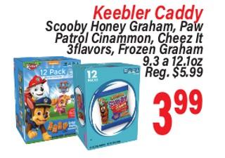 Keebler Caddy Scooby Honey