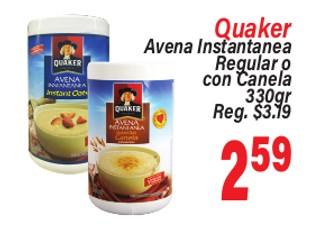 Quaker Avena Instantanea