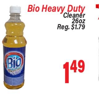 Bio Heavy Duty Cleaner