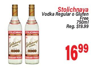Stolichanaya Vodka