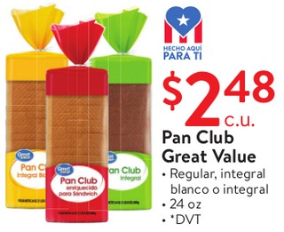 Pan Club Great Value