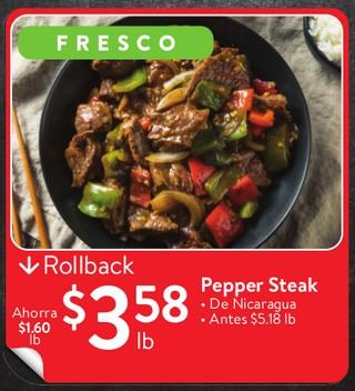 Pepper Steak De Nicaragua