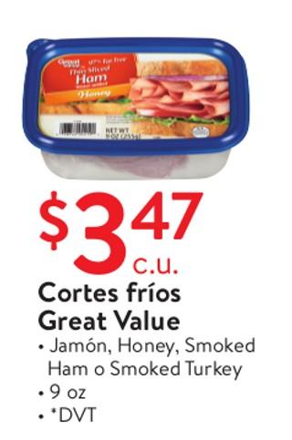 Cortes frios Great Value