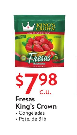 Fresas King's Crown