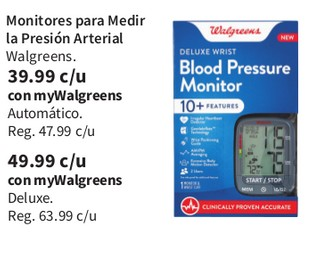 Monitores para Medir la Presión Arterial