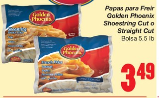 Papas para Freir Golden Phoenix