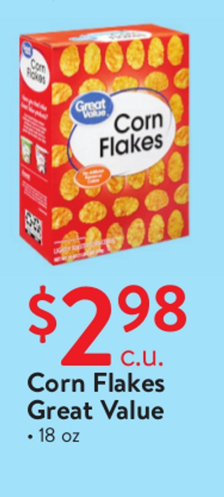 Corn Flakes Great Value