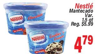 Nestle Mantecado