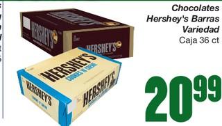 Chocolates Hershey's Barras Variedad