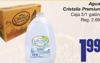 Agua Cristalia Premium