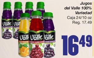 Jugos Del Valle 100%