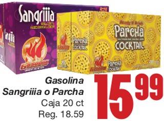 Gasolina Sangriiia o Parcha