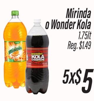 Mirinda o Wonder Kola