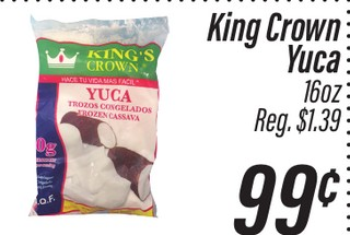 King's Crown Yuca