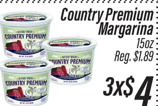 Country Premium Margarina