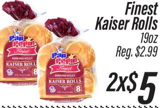 Finest Kaiser Rolls