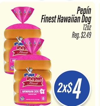 Pepín Finest Hawaiian Dog