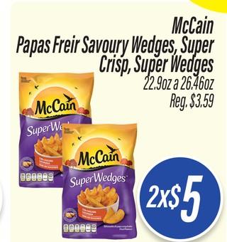 McCain Papas para Freir