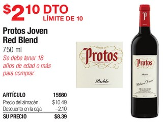 Protos Joven Red Blend