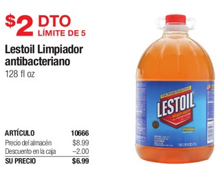 Lestoil Limpiador Antibacteriano