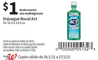 Enjuague Bucal Act