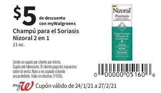 Champú para el Soriasis Nisoral 2 en 1