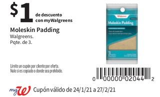 Moleskin Padding Walgreens