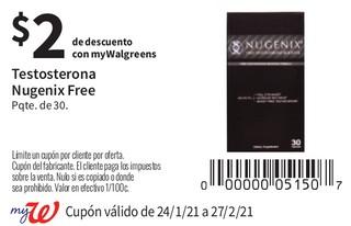 Testosterona Nugenix Free