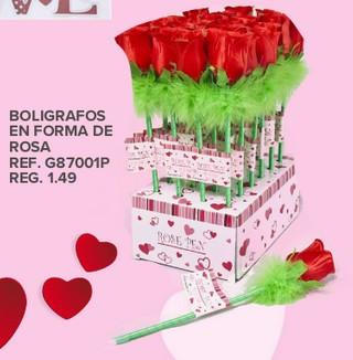Bolígrafos En Forma de Rosa