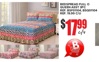 BedsPread  Full o Queen 3PC