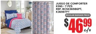 Juego De Conforter King - 7 PZS