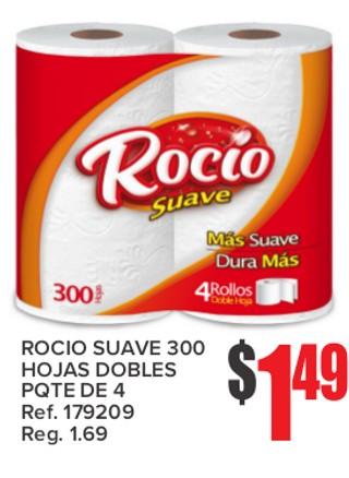 Rocio Suave 300 Hojas Dobles