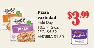 Pizza Variedad Field Day 10.5 - 12 oz