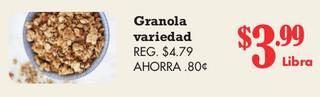 Granola Variedad