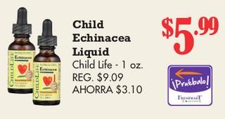 Child Echinacea Liquid