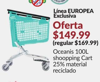 Oceanis 100L Shopping Cart