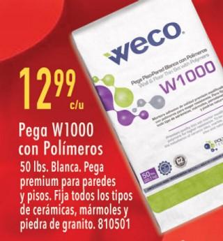 Pega W1000 Con Polímeros