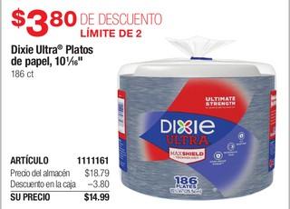 Dixie Ultra Platos